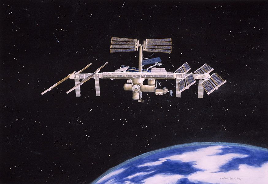International Space Station, NASA Commission, Collection NASA, Kennedy Space Center