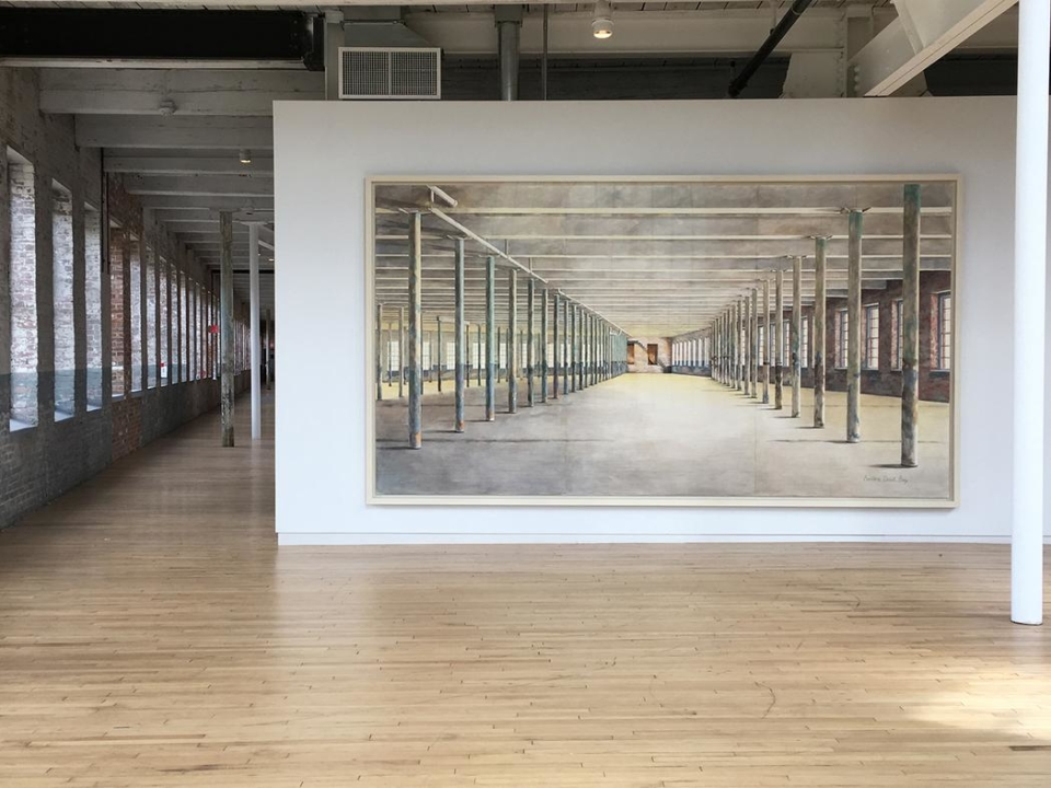 Building 6 Portrait: Interior, Barbara Ernst Prey, 2015-2017